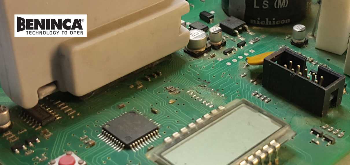 Reparatii placa electronica beninca