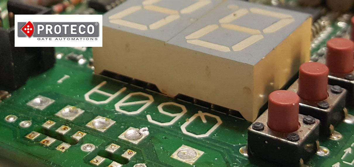 Reparatii placa electronica proteco