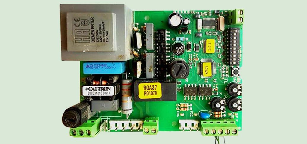 Reparatie placa Nice ROA 37 o inlocuire rapida a componentelor defecte si functioneaza ca la inceput!