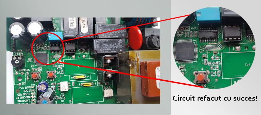 placa motorline componente inlocuite
